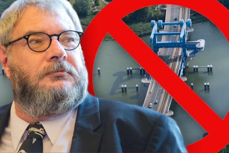 Die Demo soll für einen besseren Anschluss Usedoms werben, sorgt aber vorerst für den gegenteiligen Effekt. (Bildmontage)