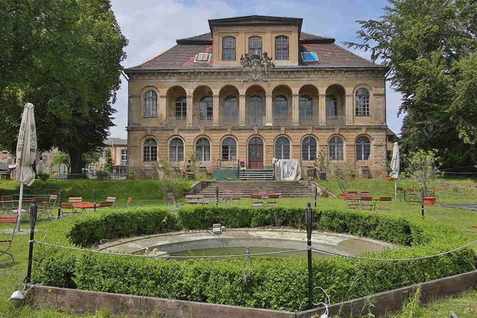 Das Schloss Übigau verfällt seit etlichen Jahren.