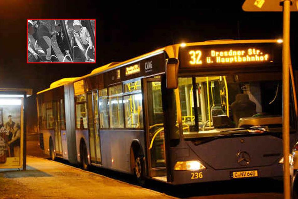 Drei Männer verprügelten in Hilbersdorf einen Busfahrer und raubten in aus. (Archivfoto)