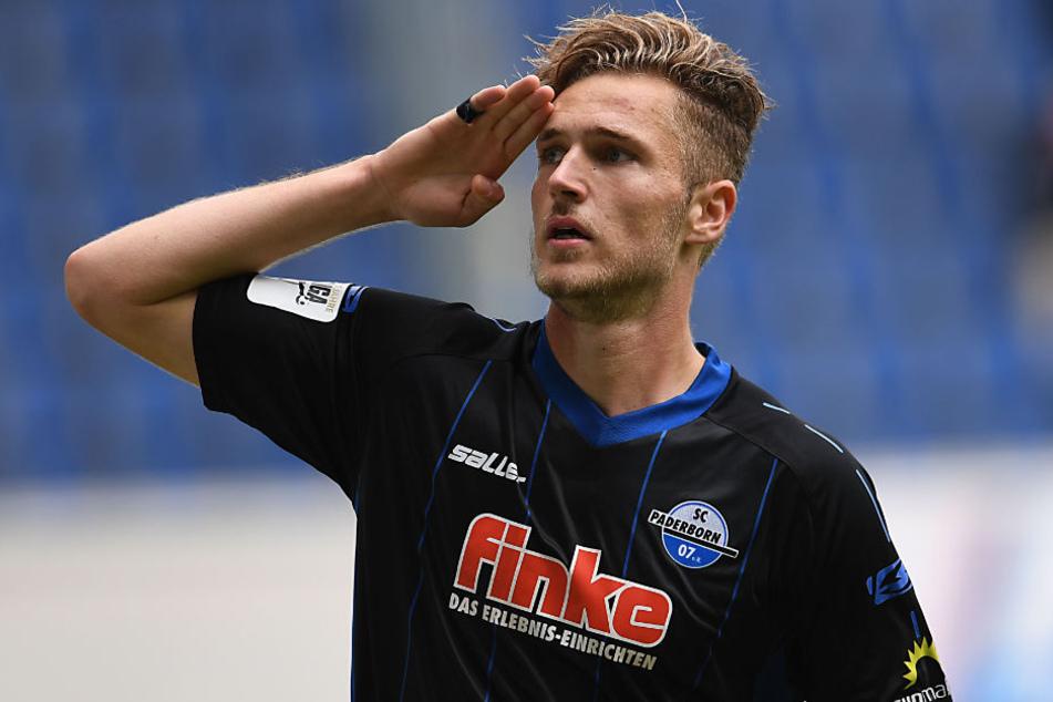 Dennis Srbeny kam im Sommer vom BFC Dynamo aus der Regionalliga.