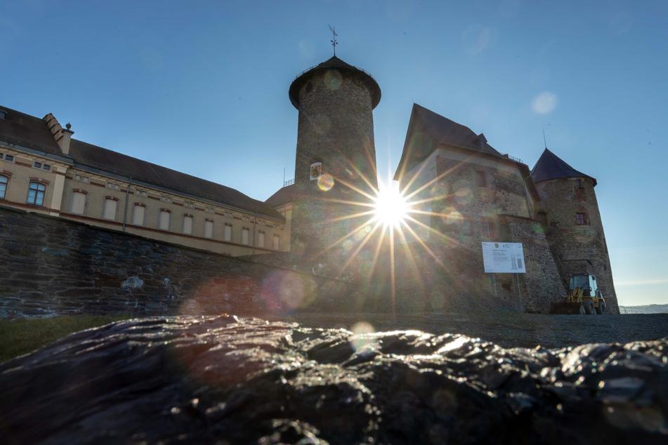 Schloss Voigtsberg in Oelsnitz.