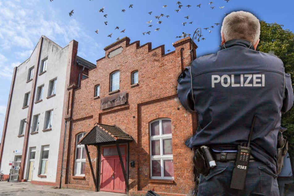 """Das Gebäude des Clubs """"le frosch"""" in Frankfurt (Oder)."""