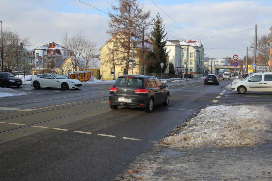 An der Leipziger/Ecke Peschelstraße soll eine Ampel Unfälle verhindern.