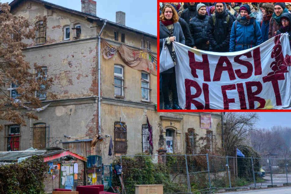 """""""Hasi""""-Räumung in Halle abgebrochen!"""