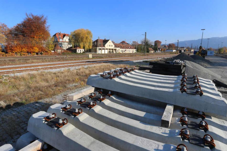 Überall Bahn-Baustellen: Hier geht während der Sommerferien fast nichts