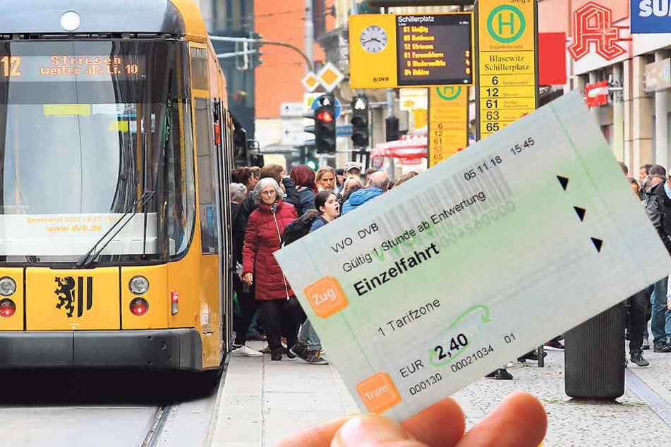 Steigende Kosten für DVB-Fahrkarten: Dahin fließt Euer Ticket-Geld!