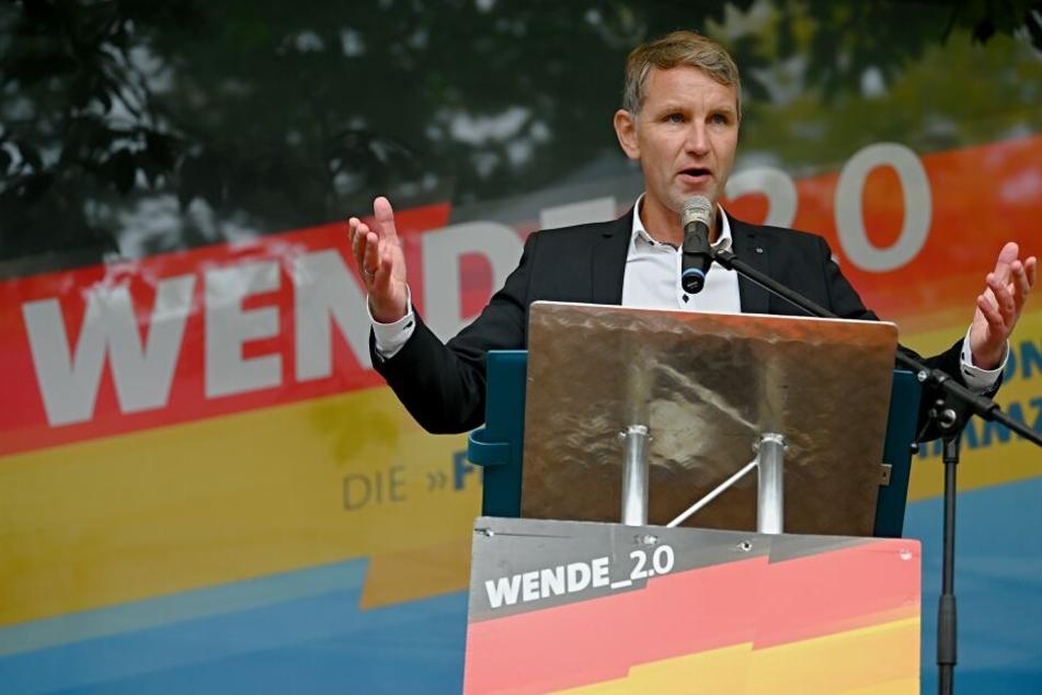 Björn Höcke polarisiert bei Wahlkampfauftritt in Erfurt