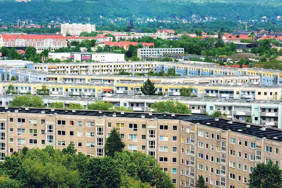 Der Wohnungsmarkt in Dresden ist inzwischen zum Nachfragemarkt gekippt. Die  Mieten steigen kräftig.