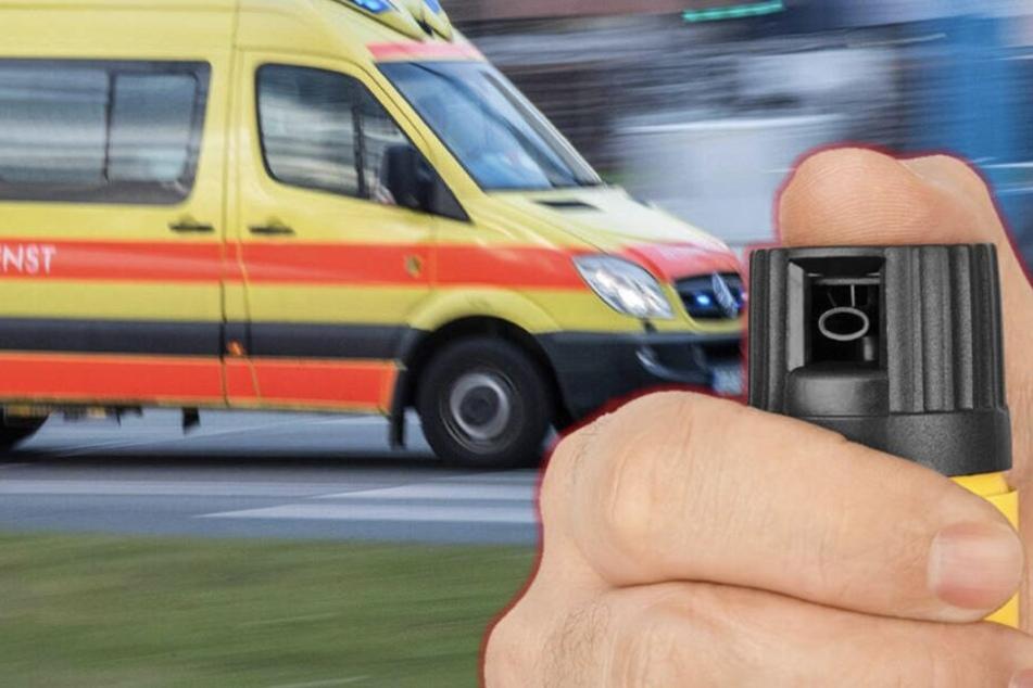 Leipzig: 43-Jähriger mit Pfefferspray ausgeraubt