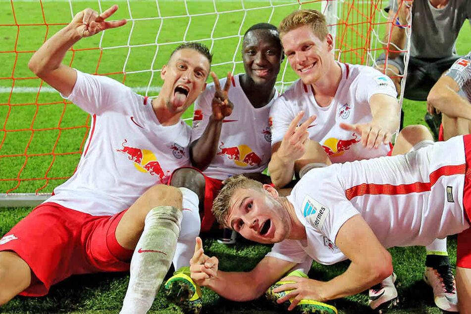 Machen sich die Spieler von RB Leipzig am Samstag das schönste Geburtstagsgeschenk?