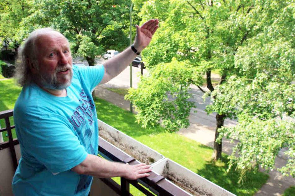 Peter Thöne kann nicht verstehen, warum Baumheide so einen schlechten Ruf hat. Er lebt seit 49 Jahren in dem Bielefelder Stadtteil.
