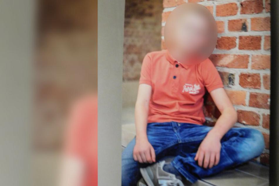Die Berliner Polizei suchte mit diesem Bild nach dem Jungen.