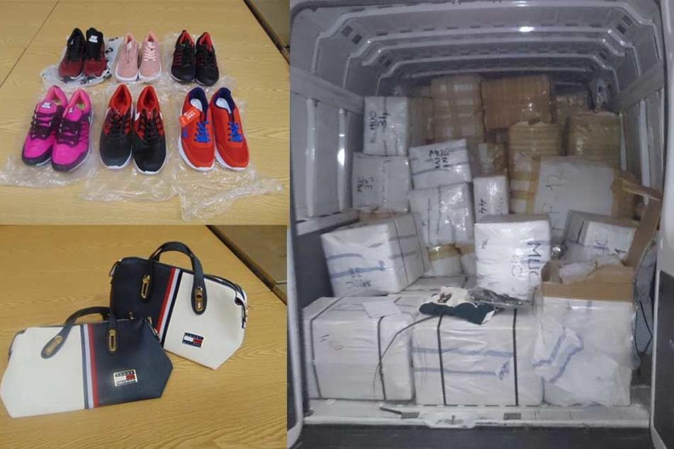 Zoll beschlagnahmt gefälschte Marken-Waren im Wert von 360.000 Euro