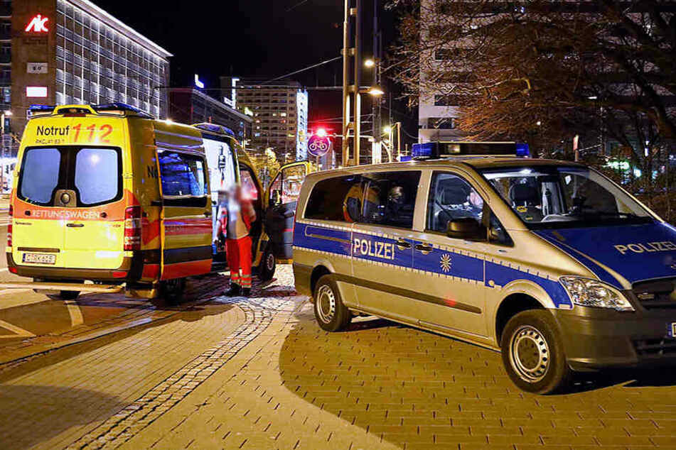 Die Polizei wurde nach Mitternacht in die Brückenstraße gerufen (Archivfoto).