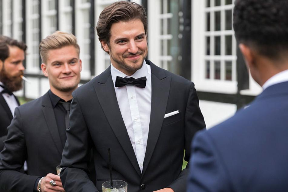 So sieht ein echter Gentleman aus: Florian Molzahn (33) siegte beim GQ Gentleman 2017.