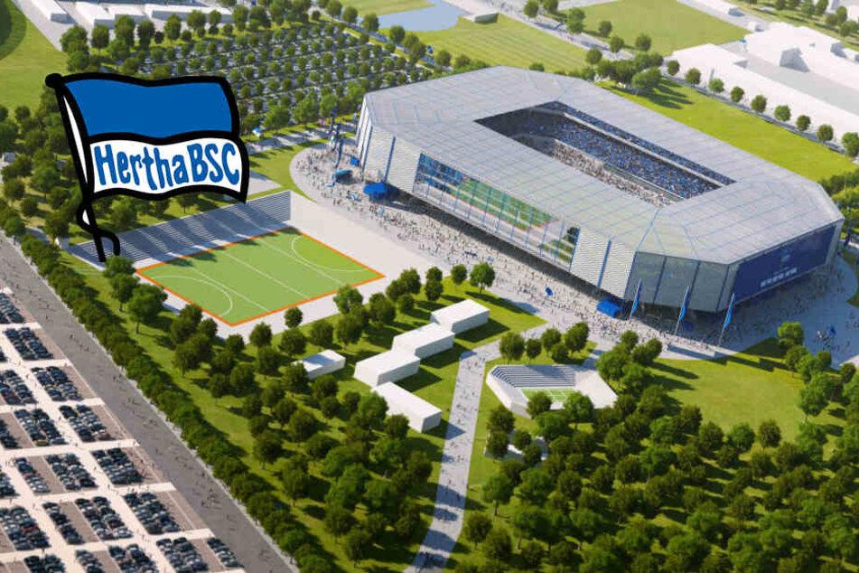 Herthas neues Stadion am Zentralen Festplatz: Das spricht dagegen!