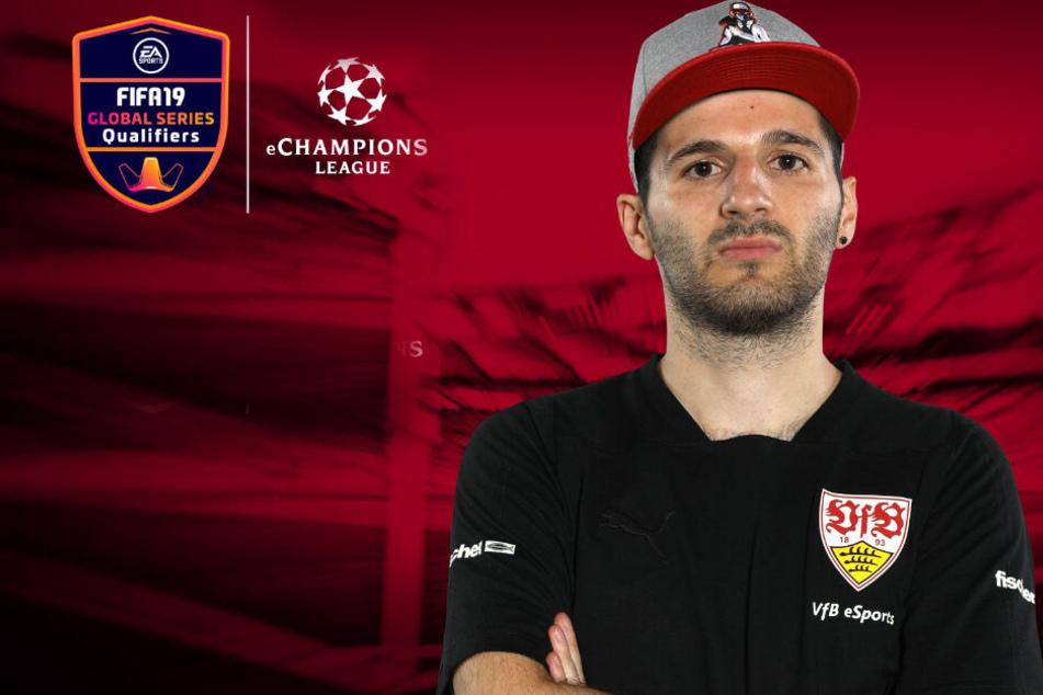 eSport-Profi des VfB Stuttgart kämpft bei FIFA Champions League in Manchester um Einzug ins Finale!