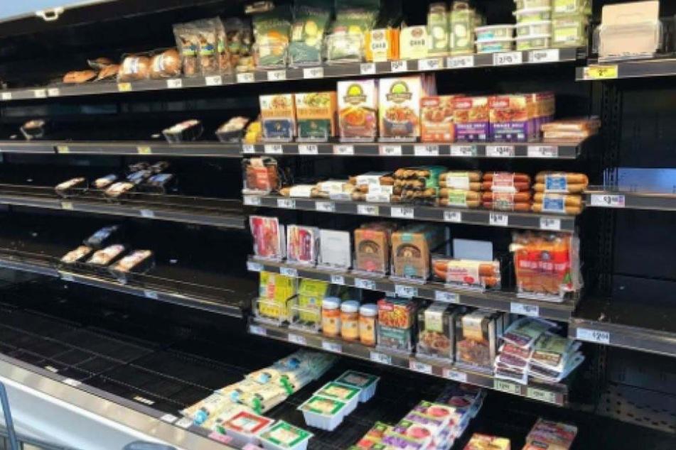 Nach Hurrikan: Bevölkerung in Texas verhungert lieber, als vegan zu essen