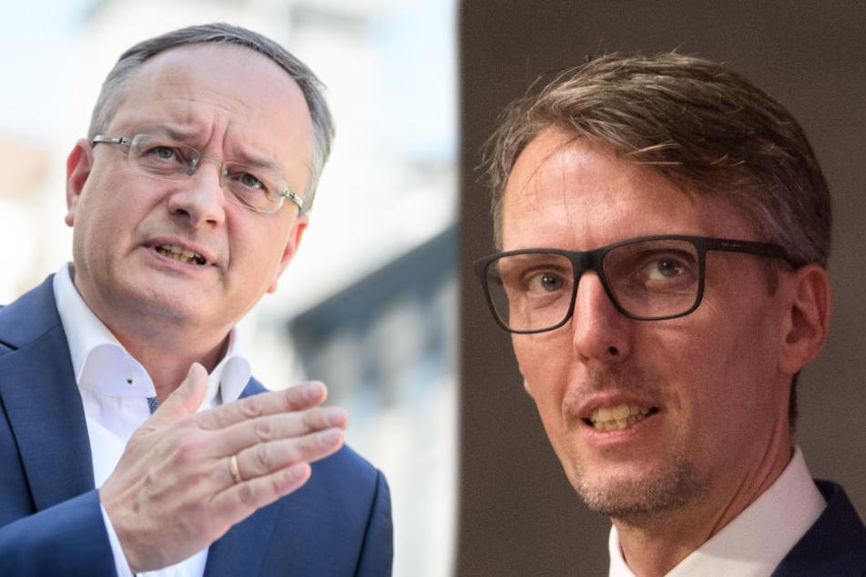 Die beiden Kandidaten um den SPD-Vorsitz sind Andreas Stoch (links im Bild) und Lars Castellucci. (Fotomontage)