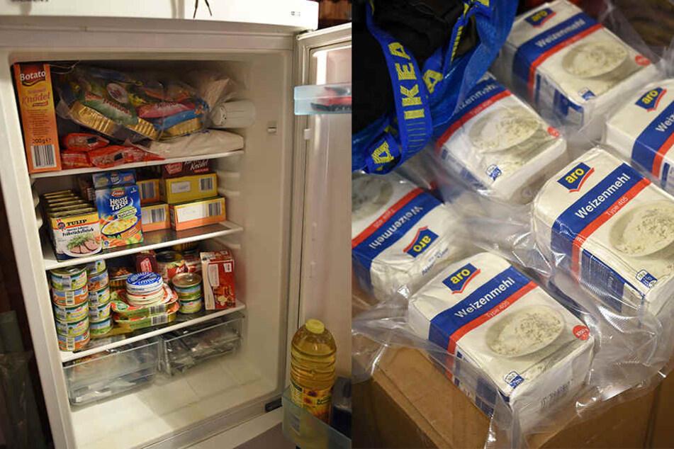 Haltbare Nahrungsmittel gehören zur Notfall-Ausrüstung im Krisenfall.