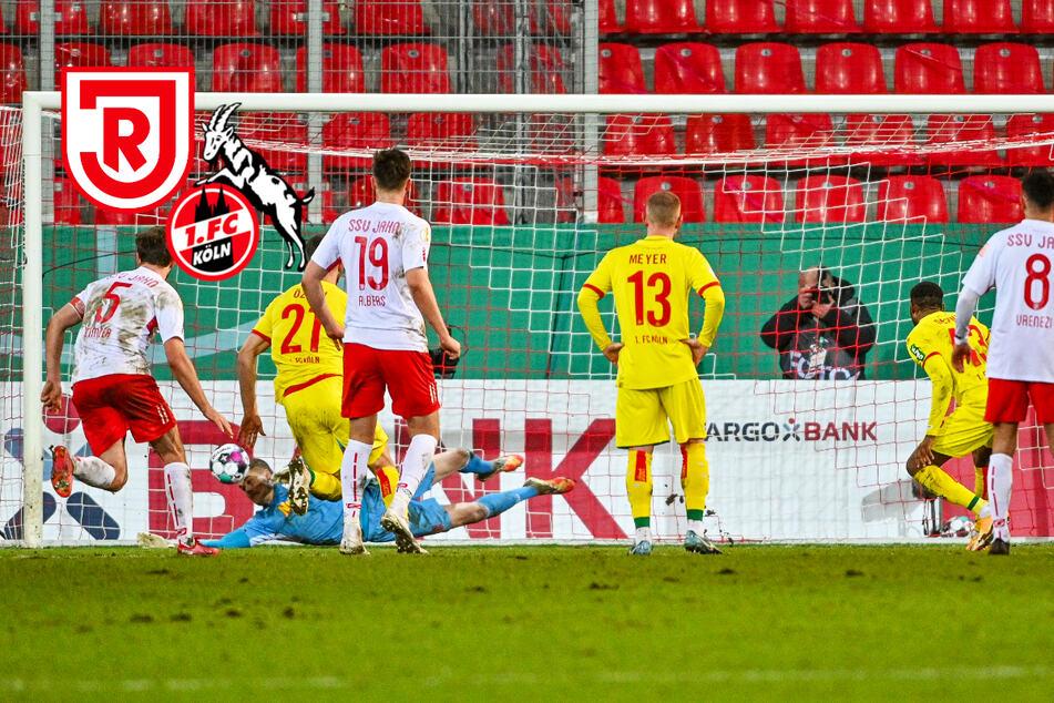 Elfer-Drama! 1. FC Köln gibt in Regensburg Führung aus der Hand und verliert