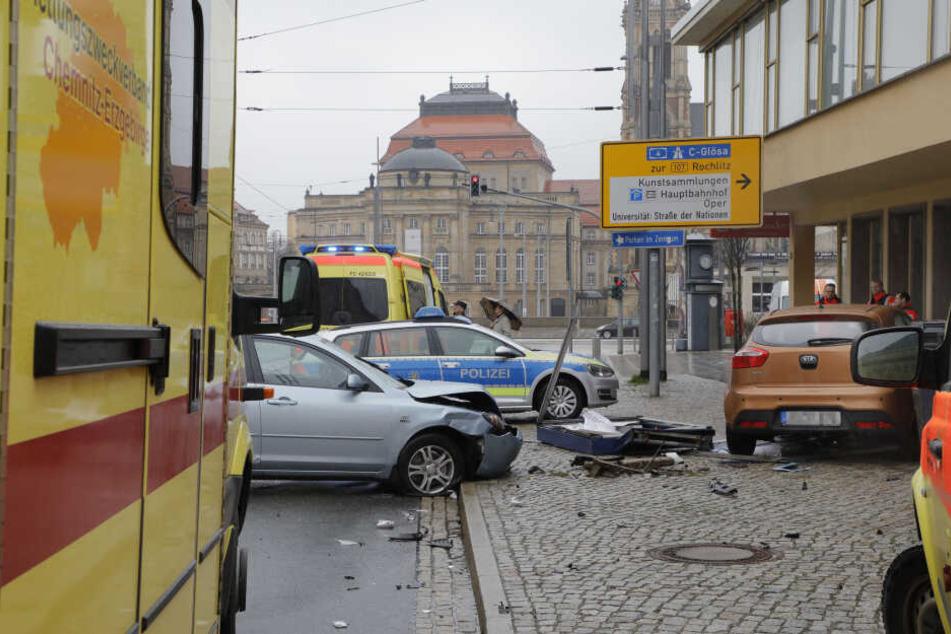Autostadt Chemnitz: Die Unfallzahlen mit Verletzten sind zuletzt gestiegen.