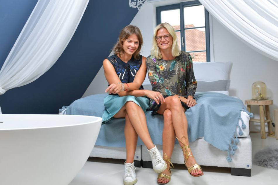 Geschäftsfrauen mit viel Liebe zum Detail: Jessica (links) und Sandra Schwarz.