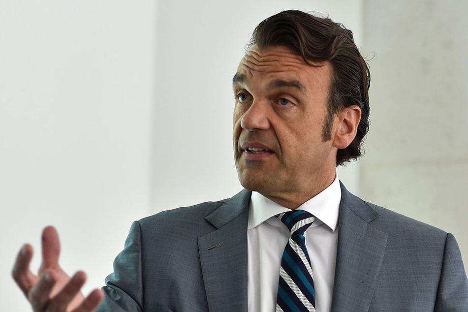 Christoph Gröner (48), Chef der CG-Gruppe.