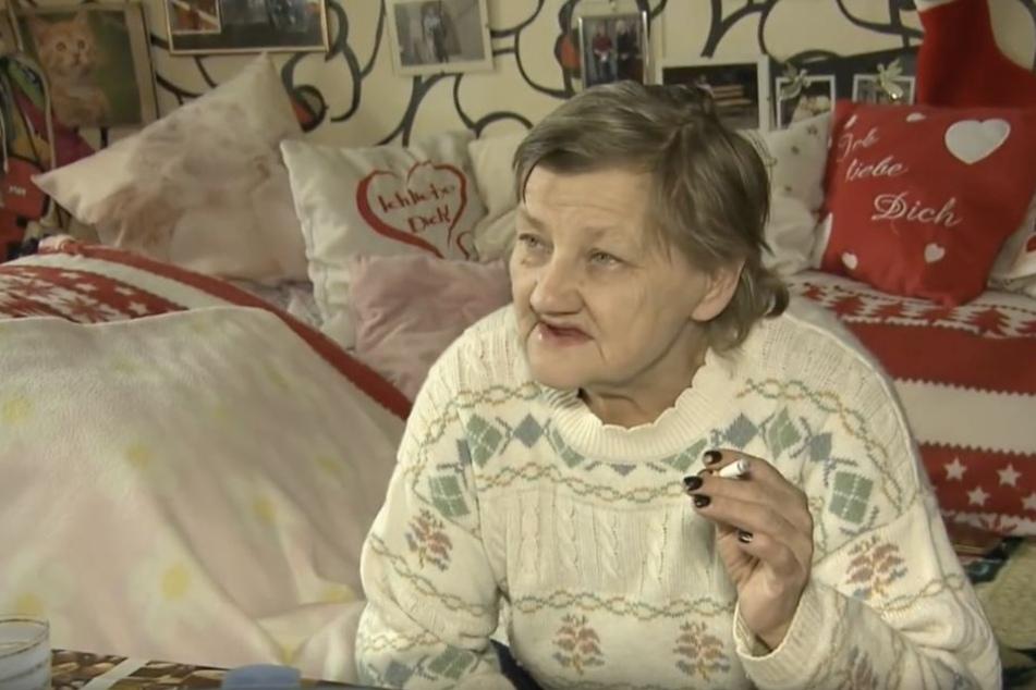 Familienoberhaupt Karin Ritter (64) sehnt den Abschluss der Umbauarbeiten in der Augustenstraße herbei.