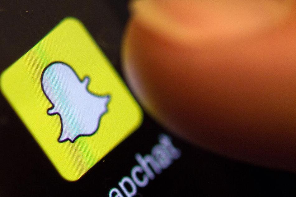 Via Snapchat nahm die Pädagogin Kontakt zu dem Teenager auf.