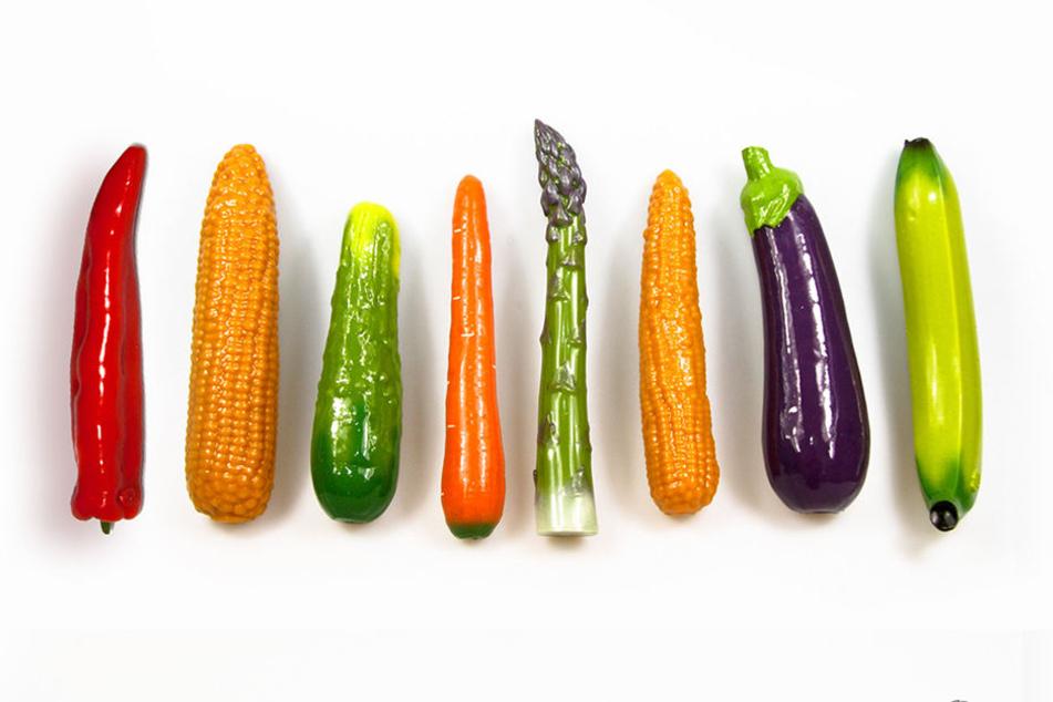 """Lust auf Gemüse? Unter anderem soll es vegane Dildos des Dresdner Unternehmens """"SelfDelve"""" in der """"voegelei"""" geben."""