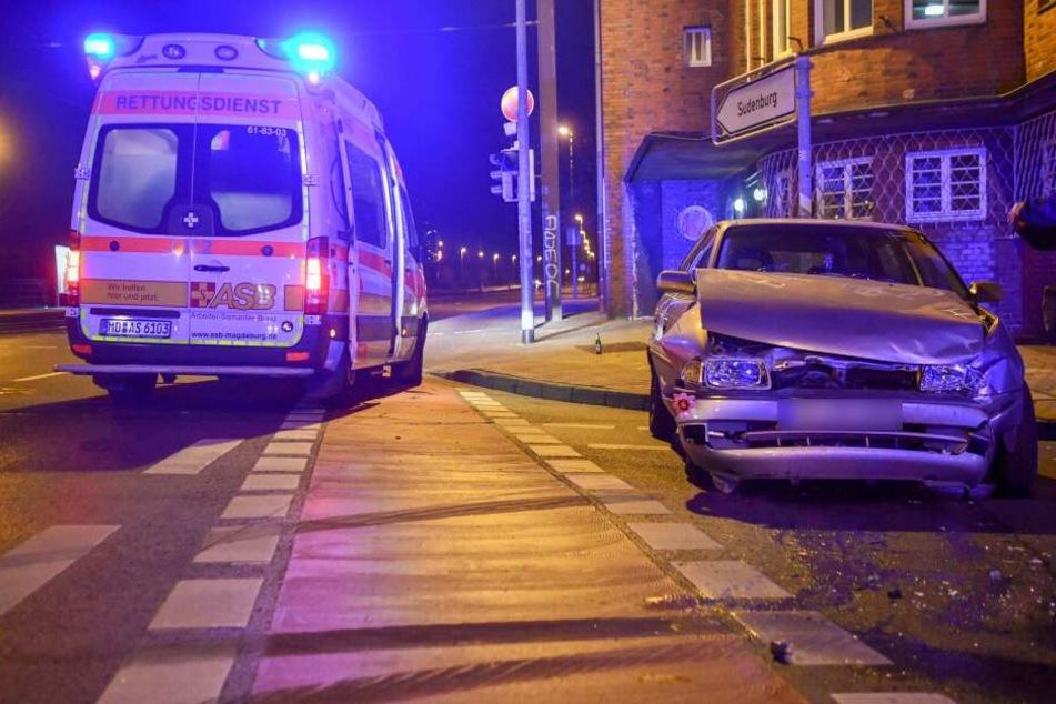 In Magdeburg ist es am Dienstag zu einem schweren Unfall gekommen.