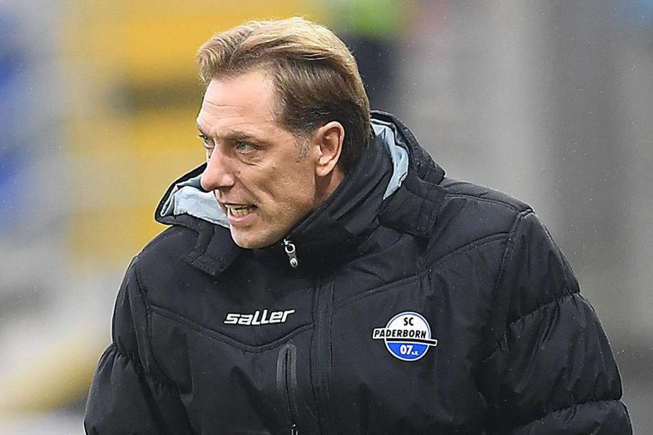 Schlechte Stimmung trotz Sieg: Cheftrainer René Müller.
