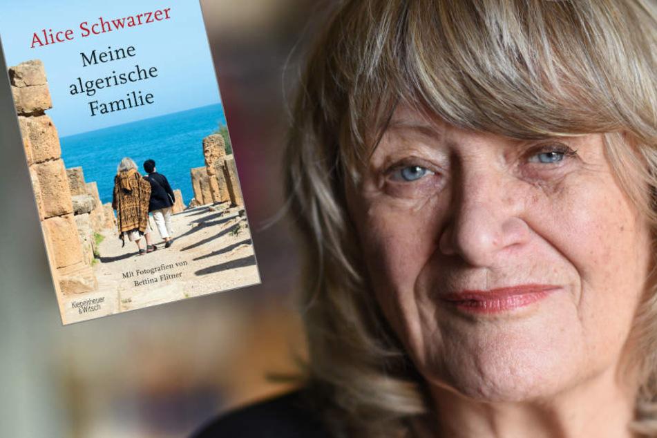 Alice Schwarzer (75) stellt ihr neues Buch vor.