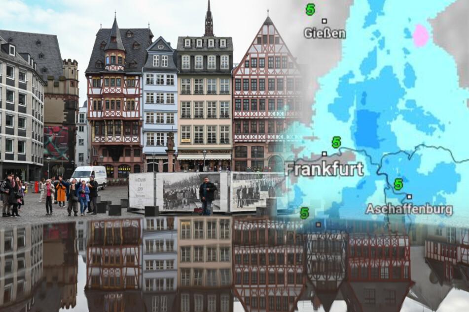 Häufig Regen, aber auch trockene Phasen: Das Hessen-Wetter am Wochenende