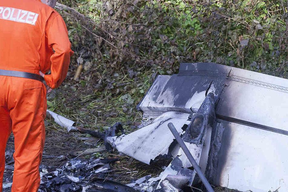 Tödlicher Absturz eines Leichtfliegers im Harz.