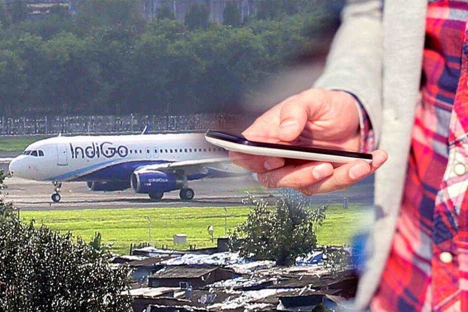 Ein Mann wollte vor dem Flug sein Handy laden - ausgerechnet im Cockpit.