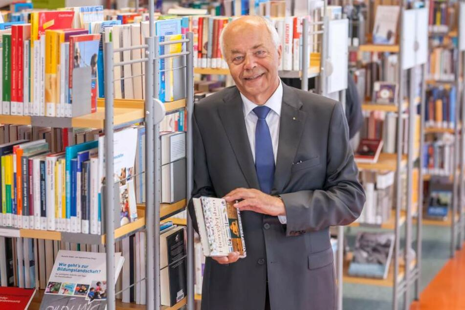 Curt Bertram (71) und seine Mitstreiter feiern 25 Jahre Förderverein.