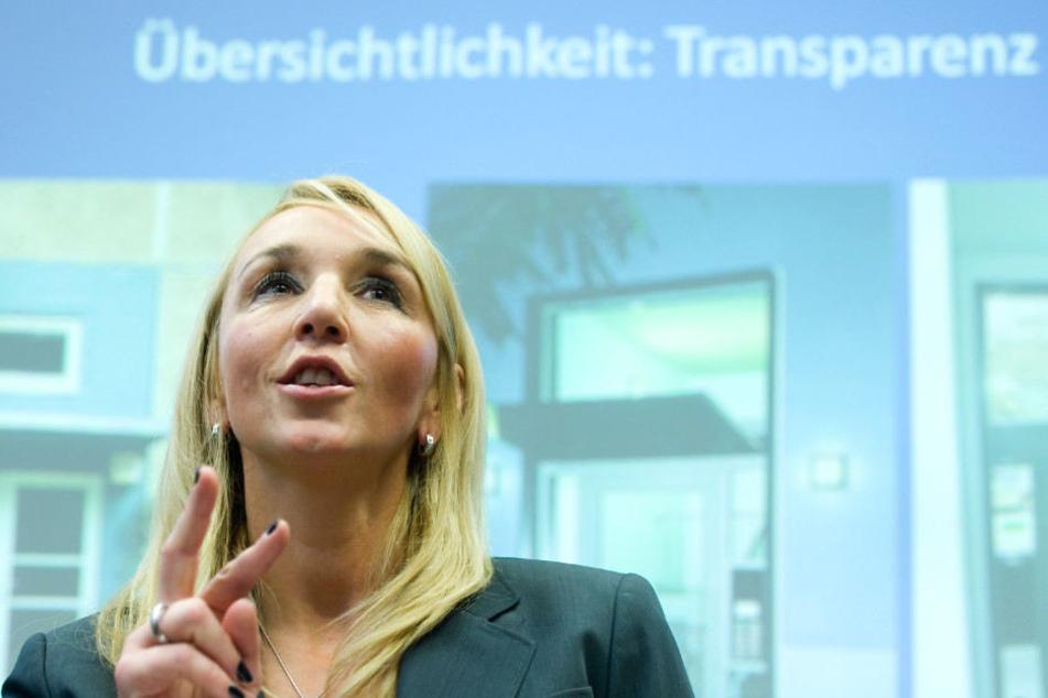 Tanja Knapp kündigte mehr Deutschunterricht an.