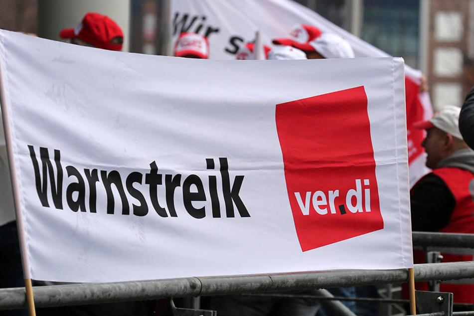 Warnstreik an der Uniklinik Leipzig: Nach der gescheiterten zweiten Verhandlungsrunde will die Gewerkschaft ein Zeichen setzen.