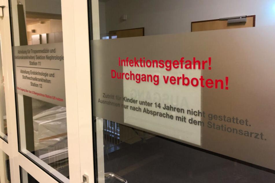 Coronavirus-Verdacht in Rostock: Zwei Frauen isoliert