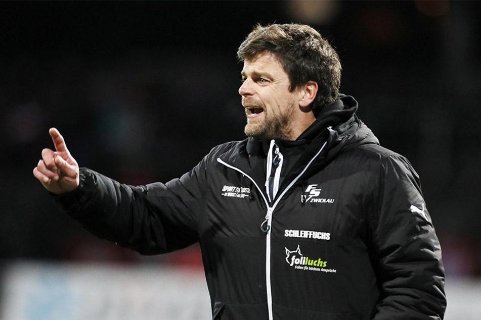 Ein Ultimatum muss Zwickau-Coach Ziegner dennoch nicht fürchten.