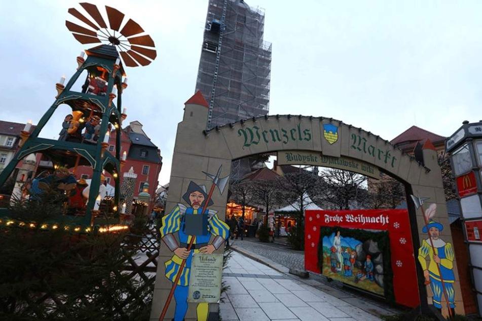 Auf dem Bautzner Weihnachtsmarkt gerieten Deutsche und Flüchtlinge wegen zu lauter Musik aneinander.