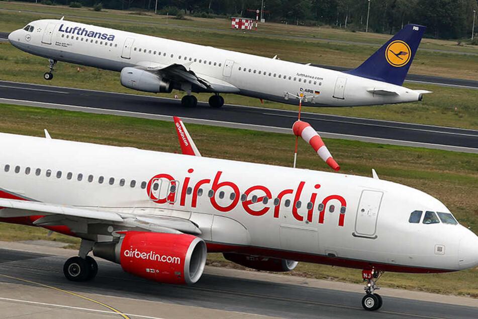 Verkauf von Air Berlin: Gläubiger verhandeln exklusiv mit Lufthansa
