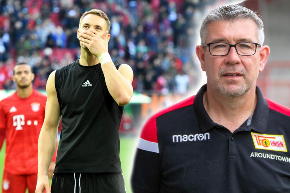 Krise beim Rekordmeister? Urs Fischer (r.) will davon nichts wissen und glaubt an starke Bayern am Samstag in der Allianz Arena. (Bildmontage)