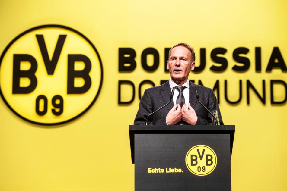 Hans-Joachim Watzke trägt die Verantwortung für den BVB, 150.000 Mitglieder und 850 Mitarbeiter.