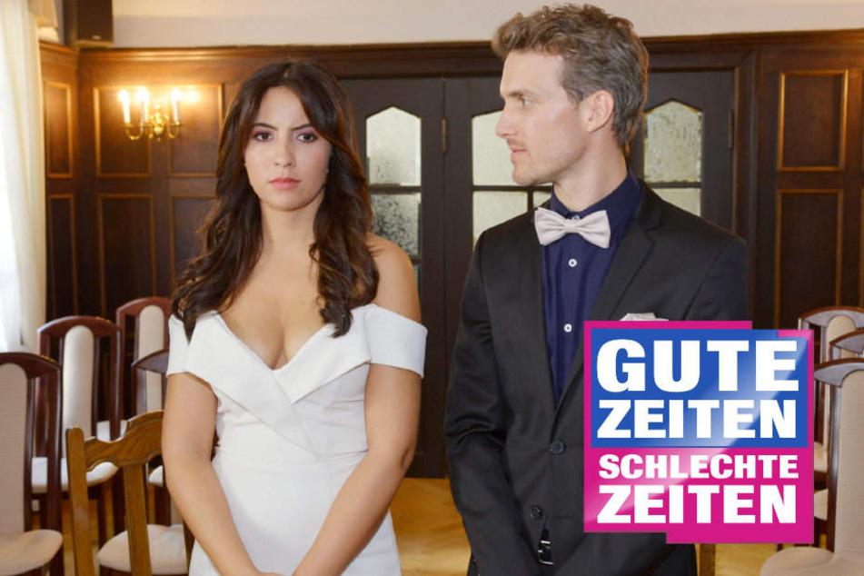"""Blitz-Hochzeit bei GZSZ: Sagt Laura tatsächlich """"Ja""""?"""
