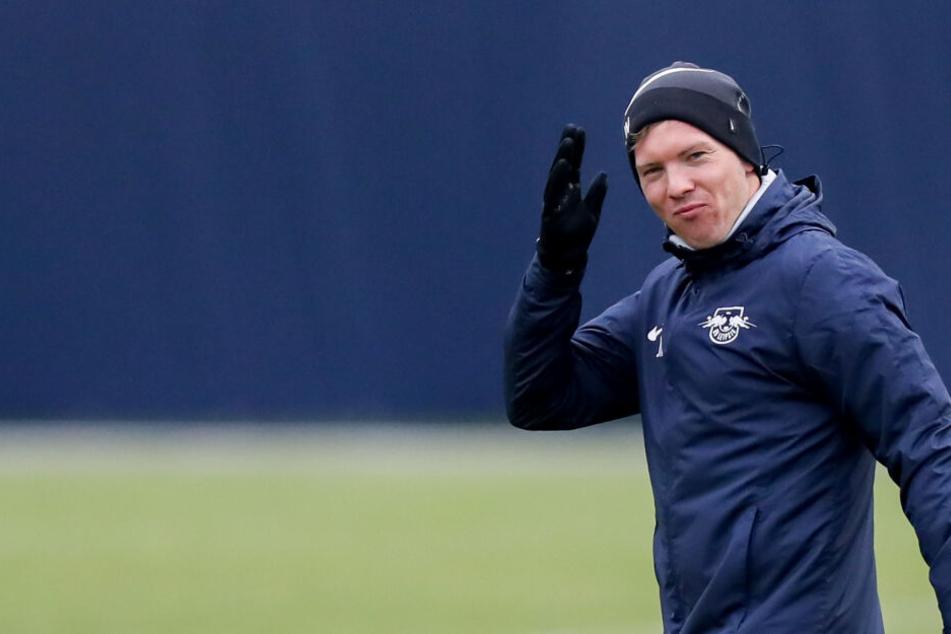 Macht bisher eine gute Figur mit seiner Mannschaft: RB Leipzigs Trainer Julian Nagelsmann.