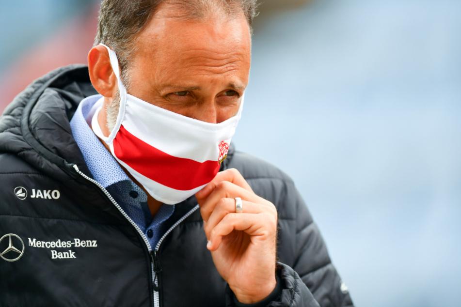 Pellegrino Matarazzo, Cheftrainer des VfB Stuttgart.