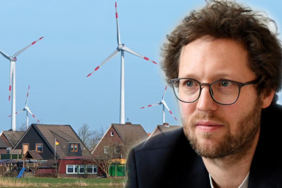 Umweltminister will geplanten Abstandsregeln bei Windrädern nicht folgen